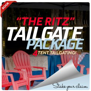 The Ritz 4 Tent Tailgating Package